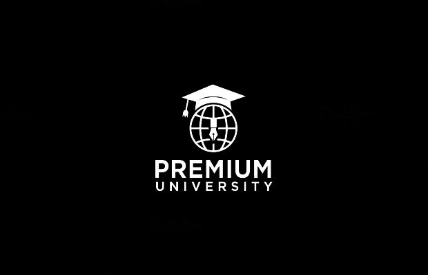 premium university logo