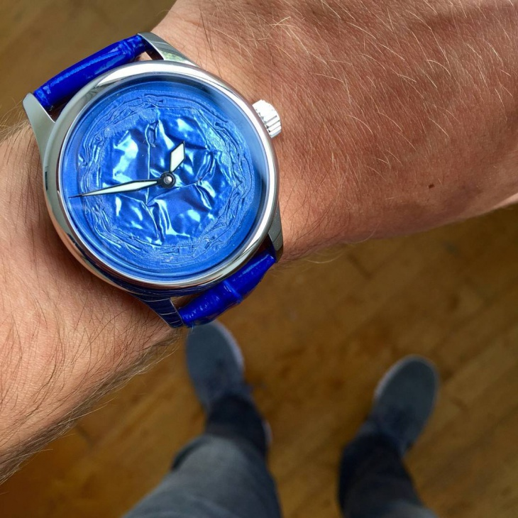 Blue Mechanical Watch for Men