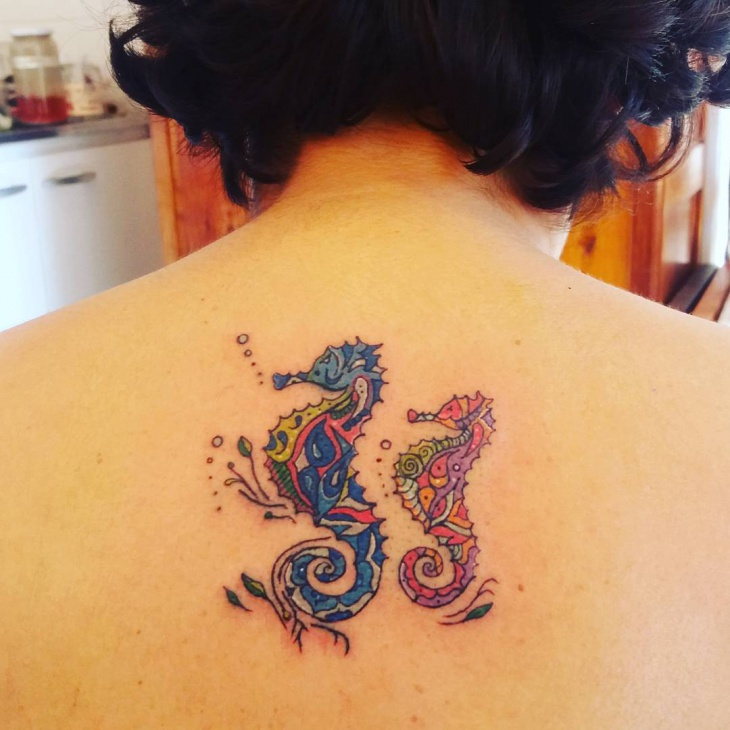 double tattoo for back