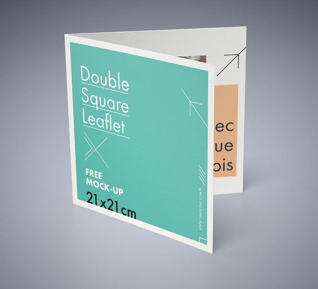 20 Letterhead Templates Mockups That Will Save You Time: 20+ Square Brochure Mockups