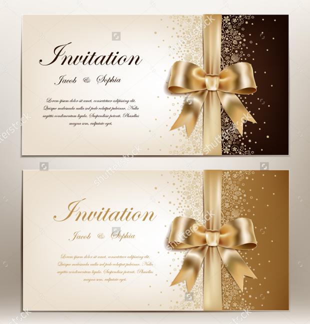 Tow Party Anniversary Invitation