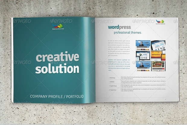 Business Square Brochure Mockup