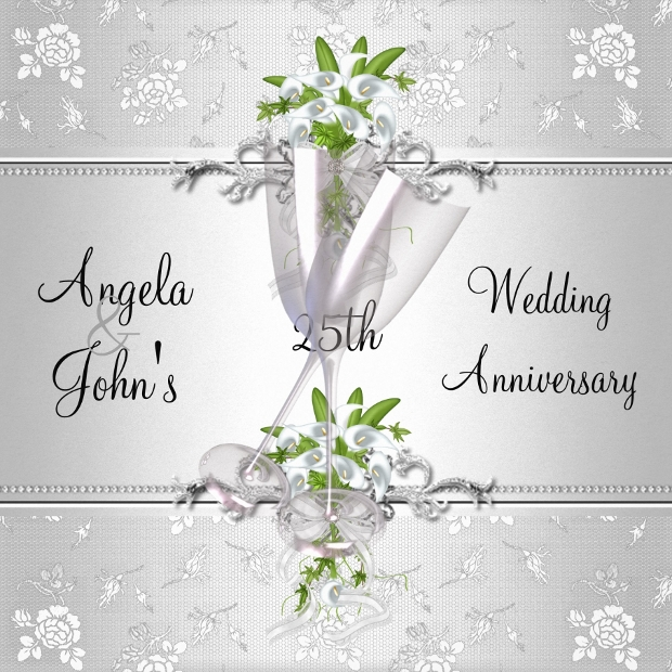 Printable Anniversary Invitation