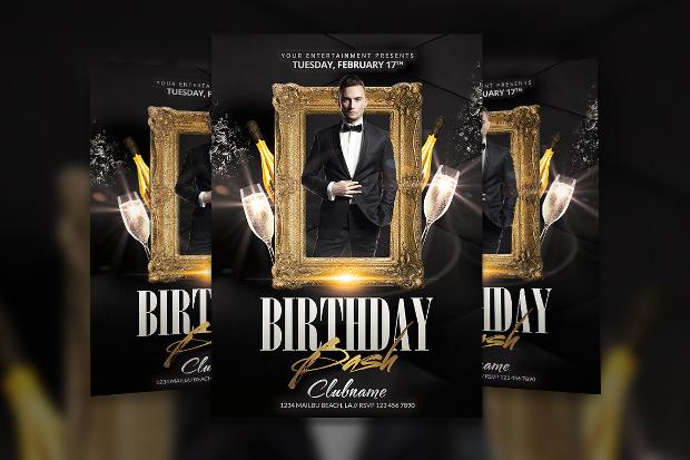 Birthday Celebration Anniversary Invitation