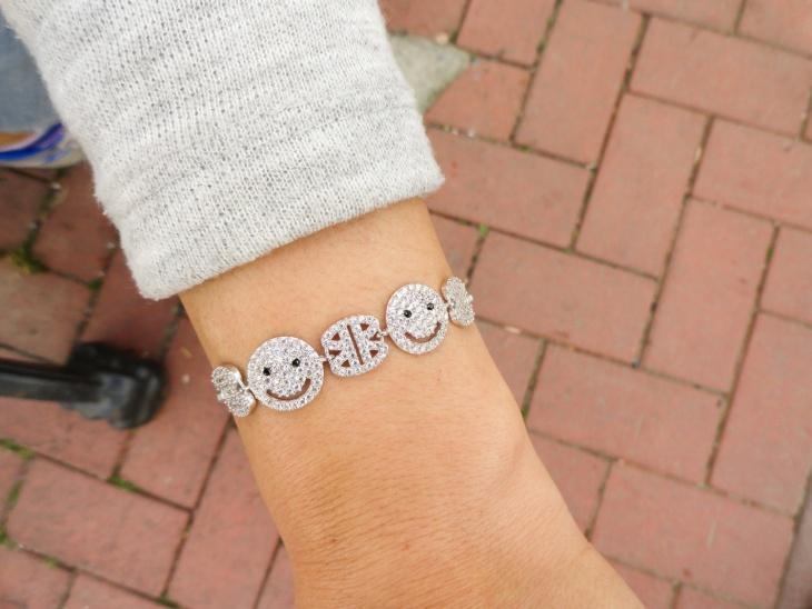 Emoji Charm Bracelet Jewelry