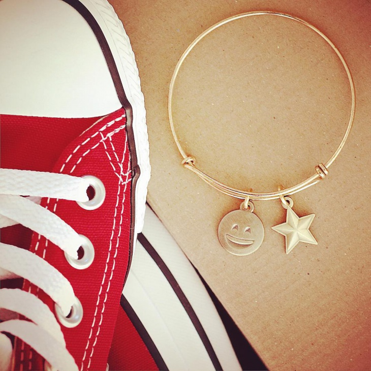 Star Round Bracelet Idea