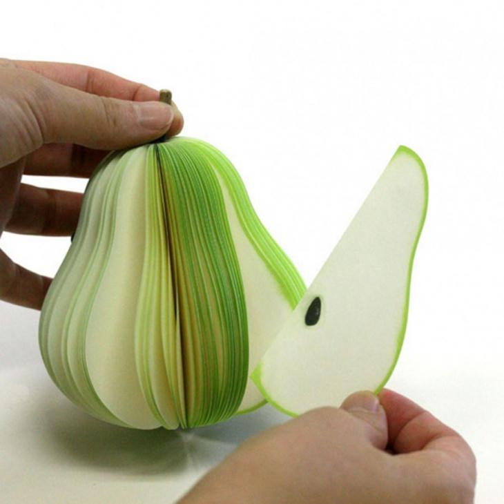 kudamemo fruit shaped notepads