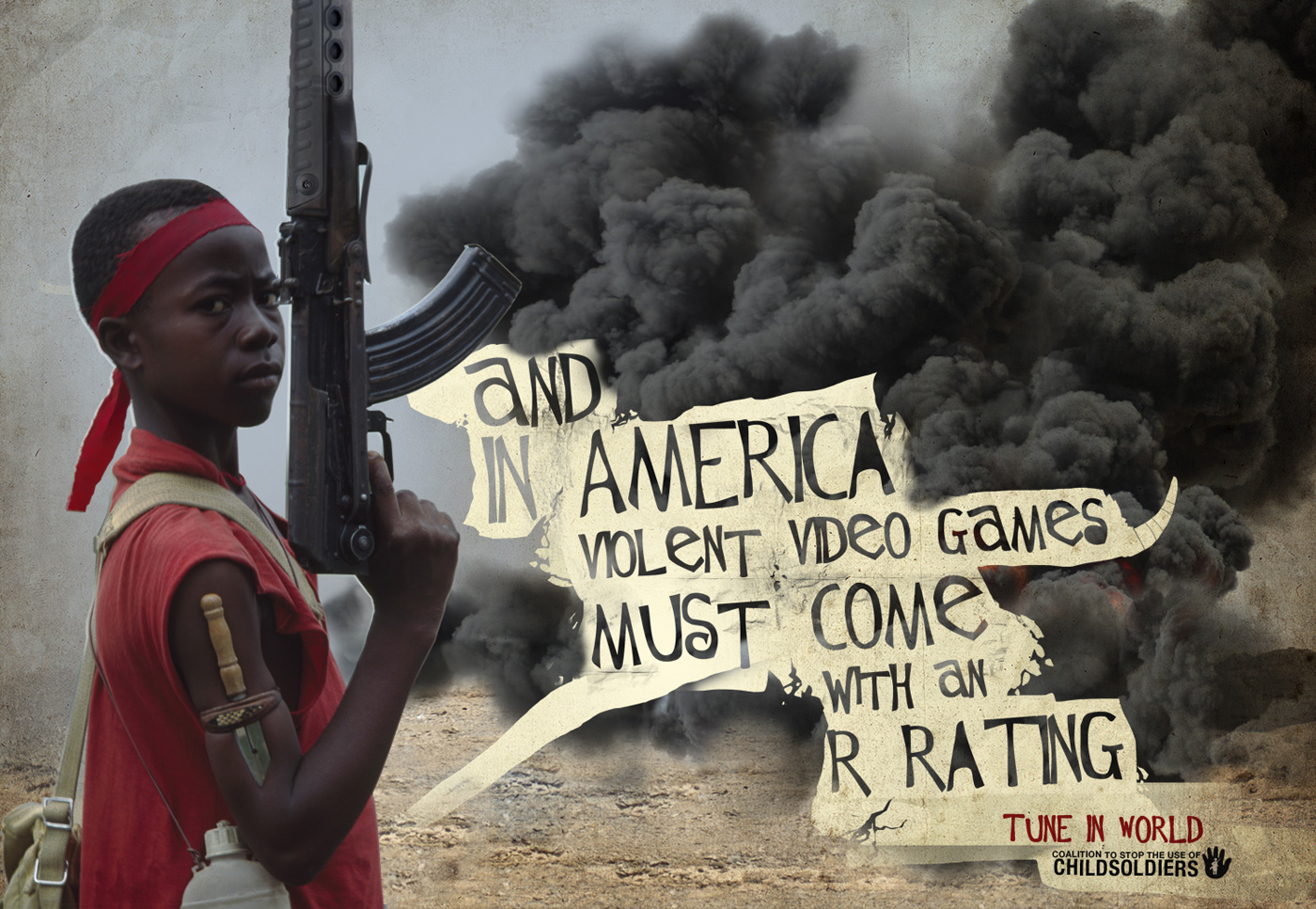 coalition to stop the use of child soldiers america