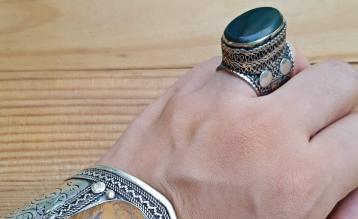 Statement Boho Ring