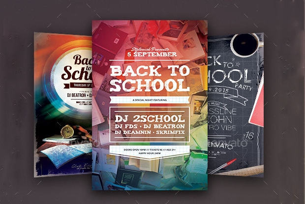 Back to School Flyer Collection