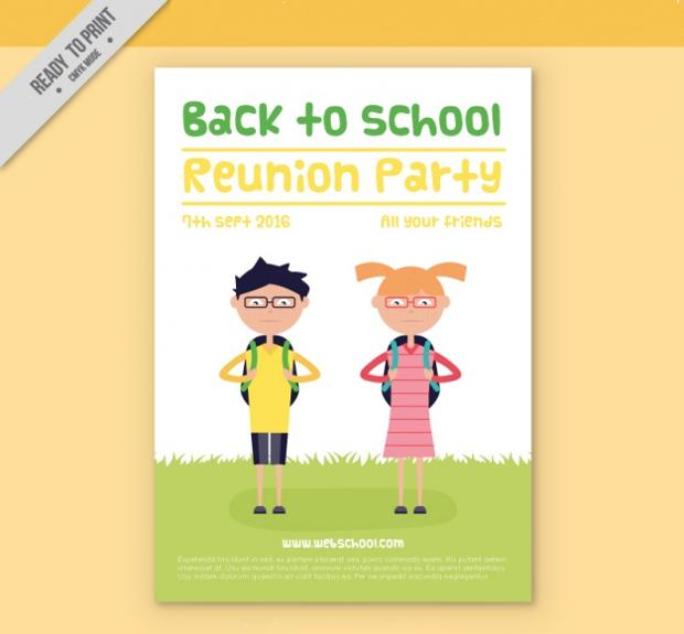 Back to School Flat Flyer