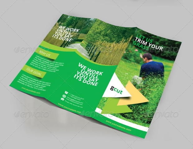 Garden Three fold Brochure