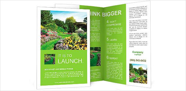 flowerbed garden brochure