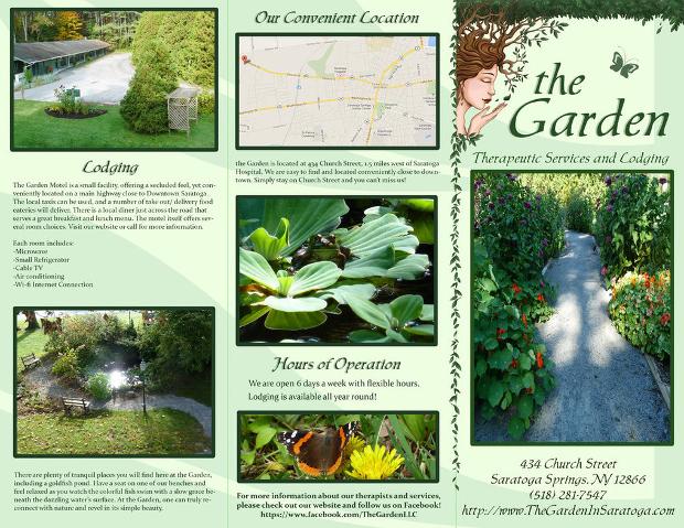 20  garden brochures