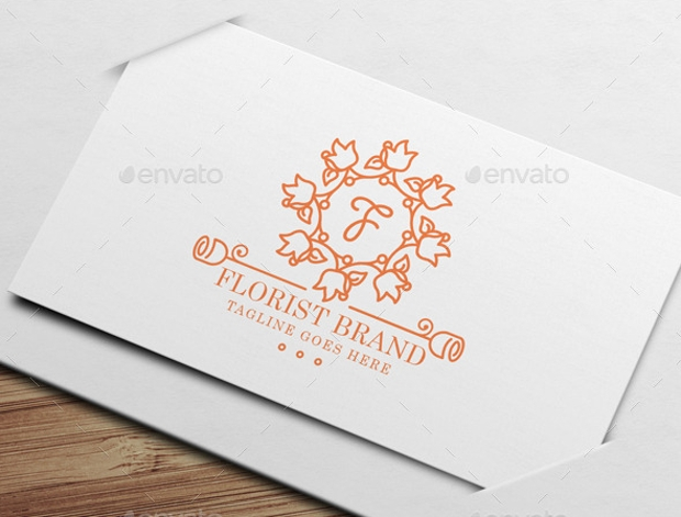 Florist Wedding Logo