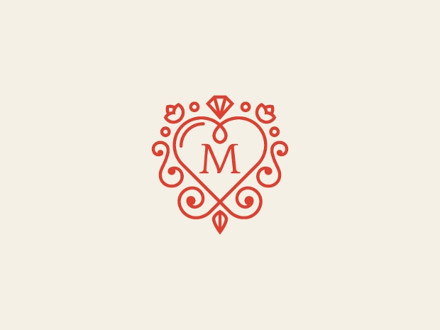 18 Wedding Logos Free Editable PSD AI Vector EPS Format