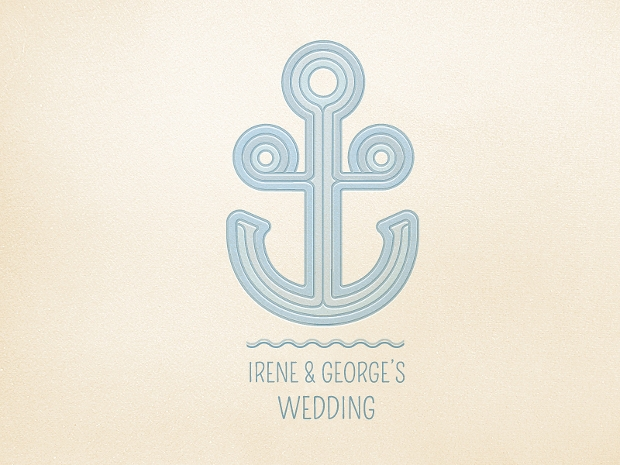 Wedding Anchor Logo
