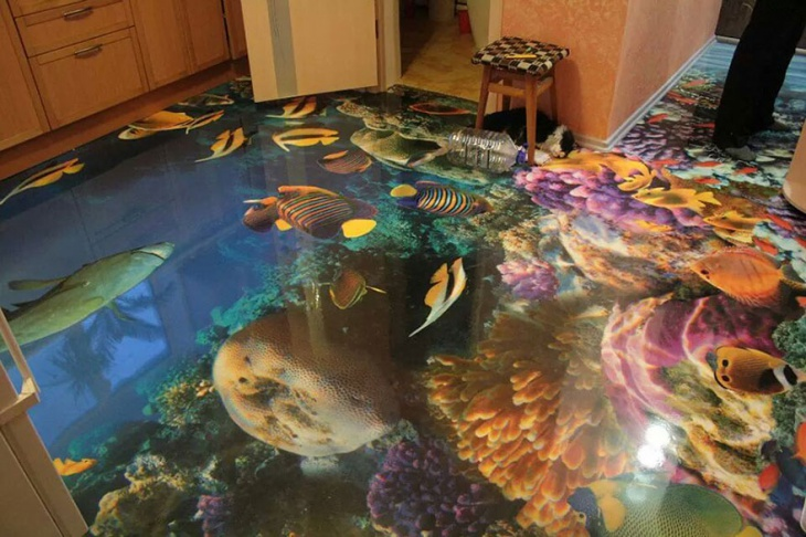 Customized 3D Flooring