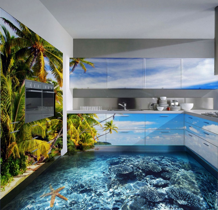 ocean theme flooring