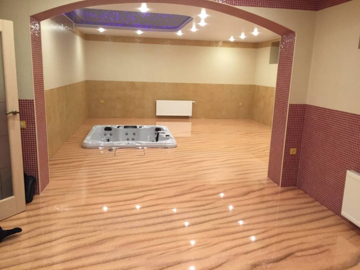 3d Floor Master Bathroom