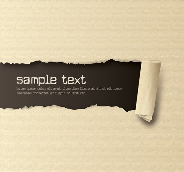 Free Ripped Paper Texture