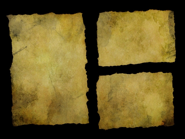 yellow torn paper texture