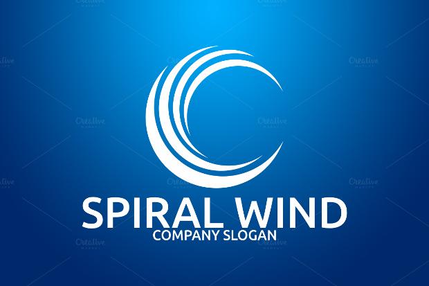 spiral wind logo