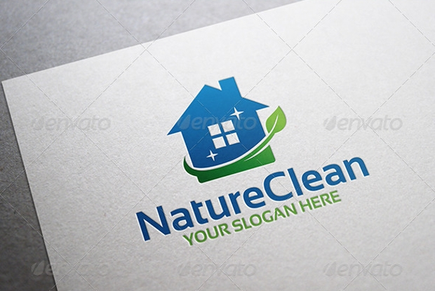 nature cleaning logo