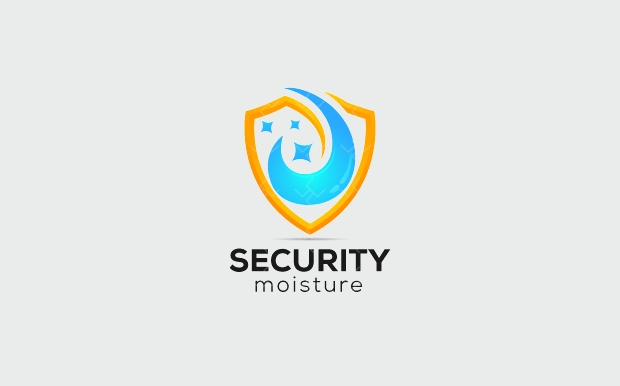 cleaning protection logo design
