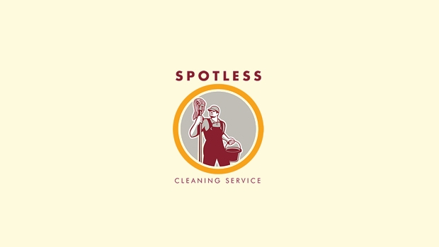 spotless cleaning service logo