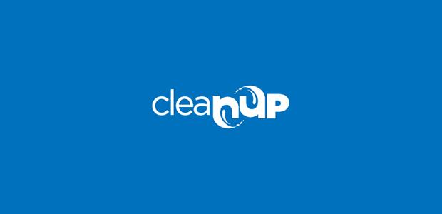 blue cleanup logo