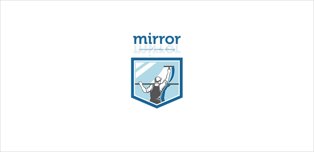 mirror cleaning logo