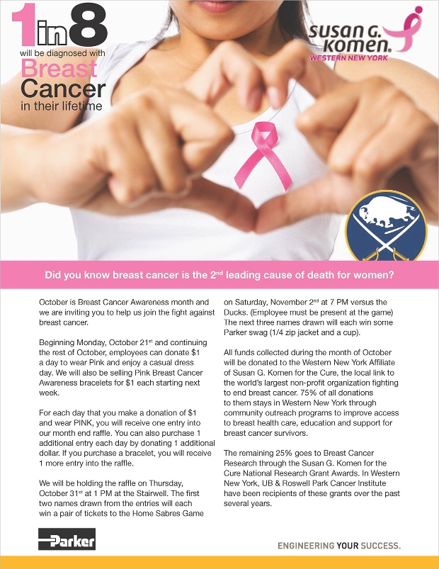 breast cancer awareness flyer designs