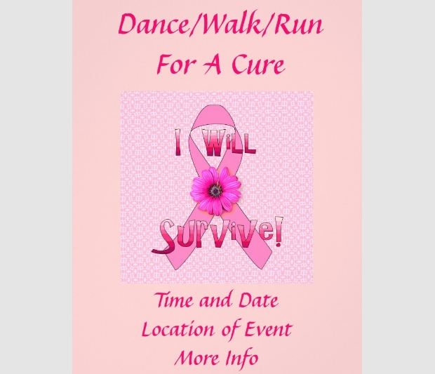 survive breast cancer flyer