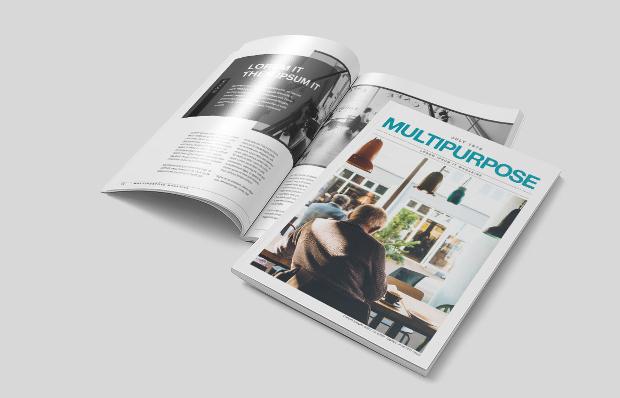 Multipurpose Travel Agency Magazine