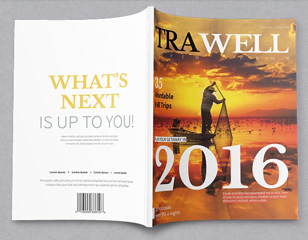 Trawell Magazine Template