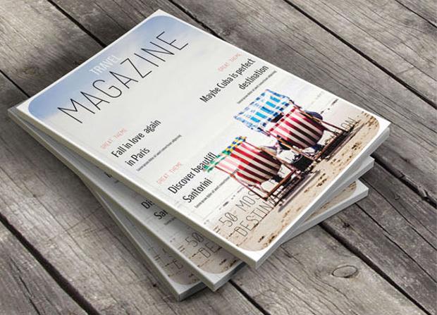 High Resolution Travel Magazine