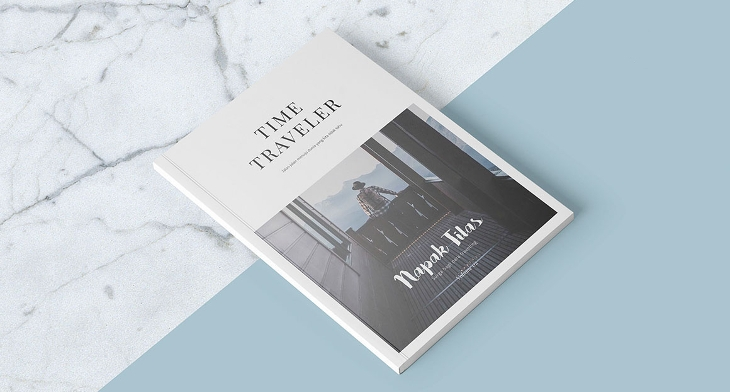 16 travel magazines free psd eps ai indesign download for Magazine layout templates free download