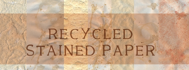 recycled stained paper texture