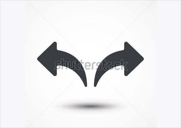 Undo Redo Arrow Icon