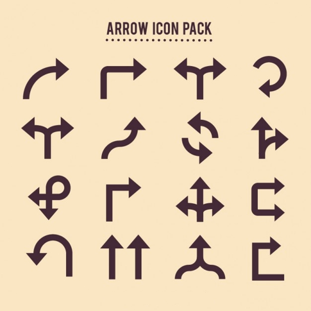 arrow icons pack
