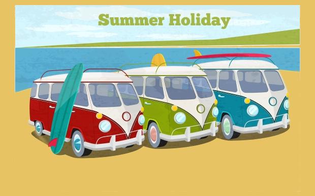 Summer Travel Vector
