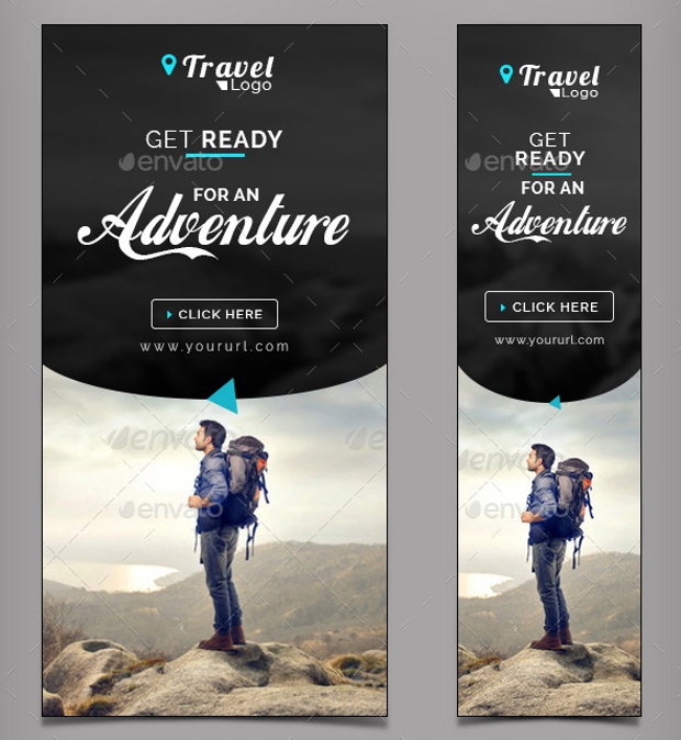 Travel and Tourism Web Banners