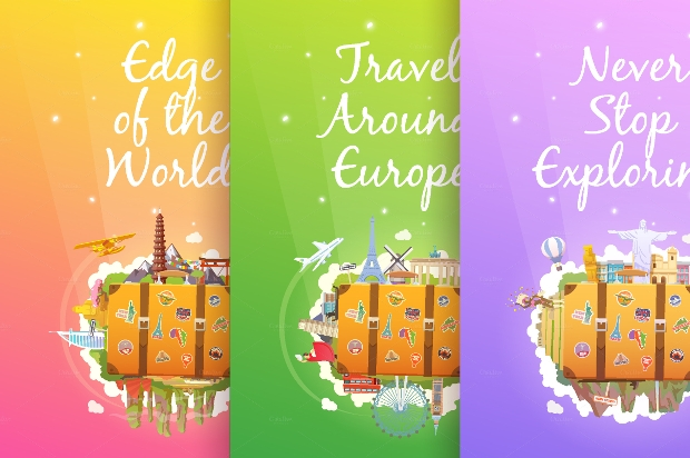 Tourism Vertical Banners