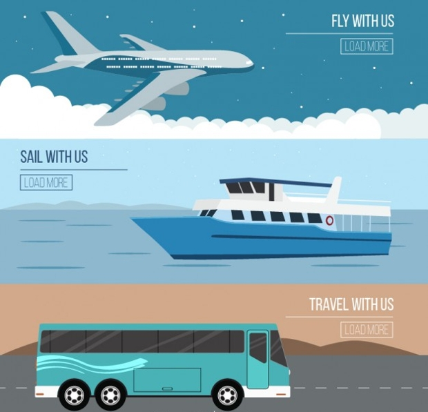 travel with us illustration