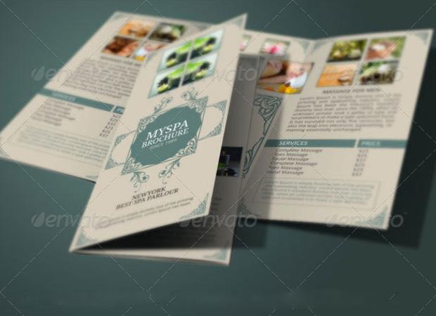 Spa Brochure Design