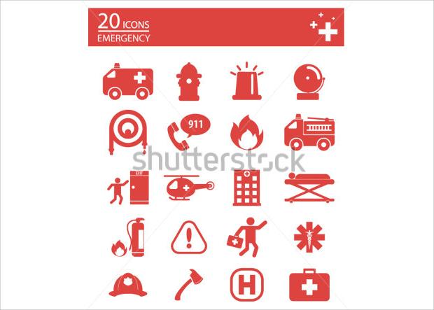 Emergency Medical Icons