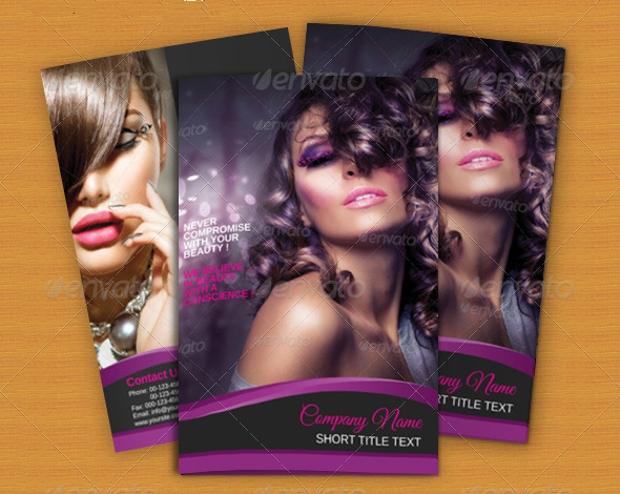beauty parlour brochure