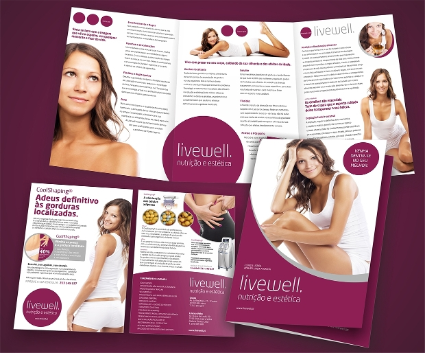 beauty clinic brochure