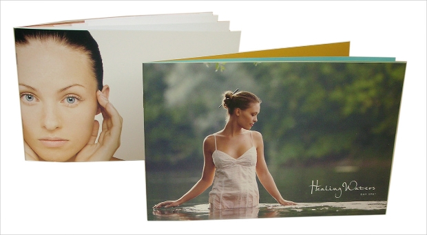 healing waters spa brochures